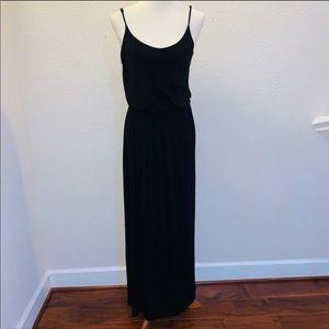 Lush Black Maxi Dress Size Large